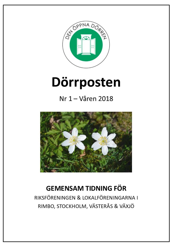 Dörrposten 2018-1