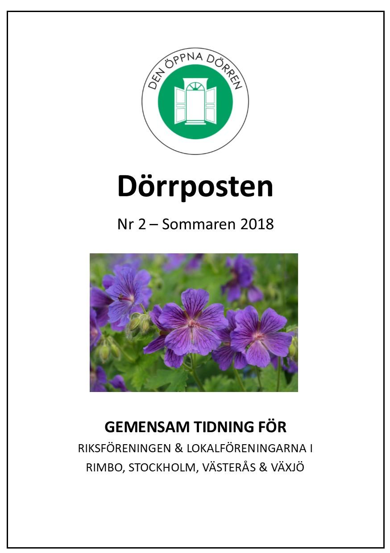 Dörrposten 2018-2