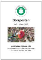 Dörrposten 2019-3 framsida
